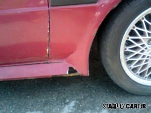 Rust attack